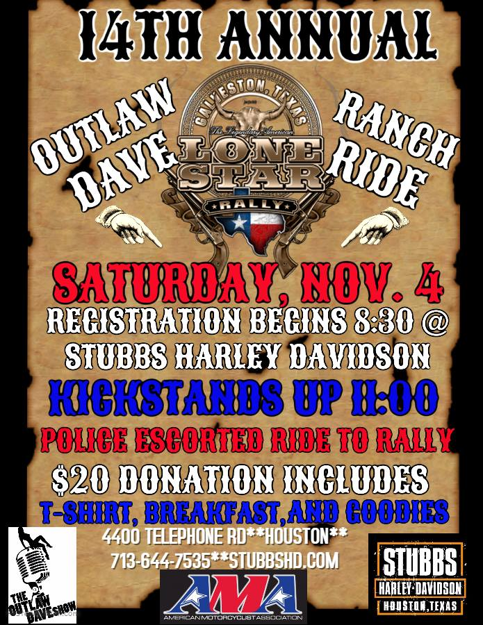 2017 Outlaw Dave Ranch Ride | Stevens & Pruett Ranch Fundraiser